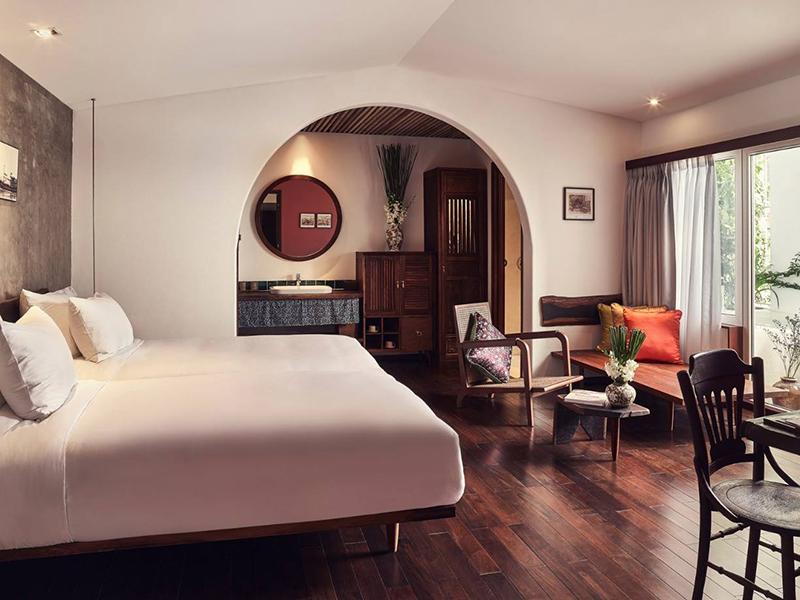 Thiết kế nội thất căn hộ phong cách Indochine - Mang vẻ đẹp hoài cổ thiet ke noi that can ho phong cach INDOCHINE 7