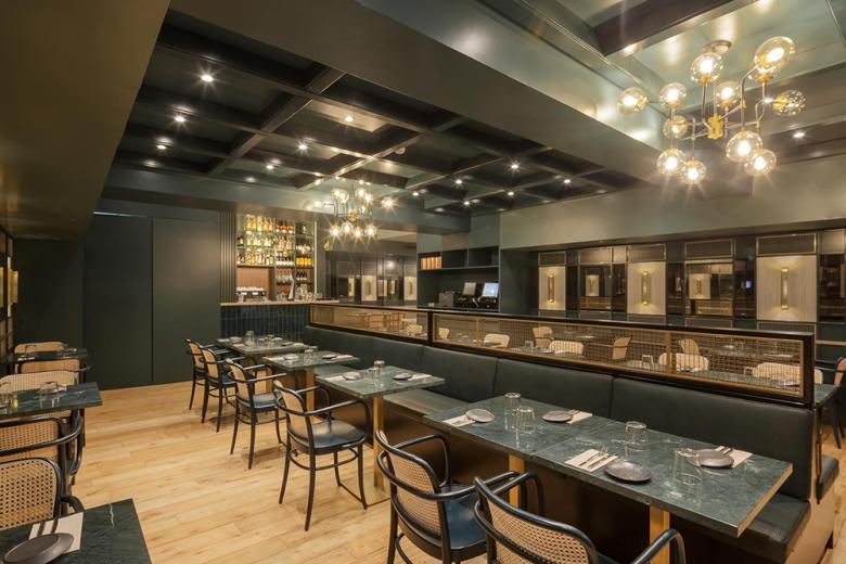 Thiết kế nội thất nhà hàng - Yếu tố giúp chủ đầu tư kinh doanh thành công thiet ke noi that nha hang hien dai 1