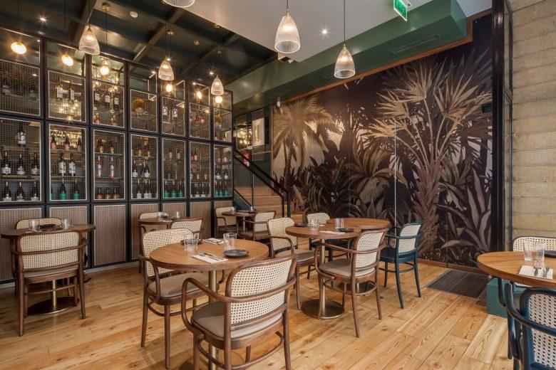 Thiết kế nội thất nhà hàng - Yếu tố giúp chủ đầu tư kinh doanh thành công thiet ke noi that nha hang hien dai 12