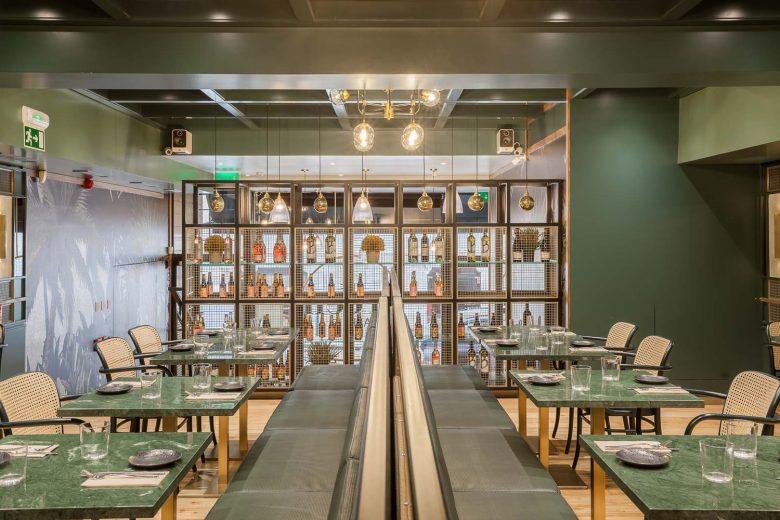Thiết kế nội thất nhà hàng - Yếu tố giúp chủ đầu tư kinh doanh thành công thiet ke noi that nha hang hien dai 3