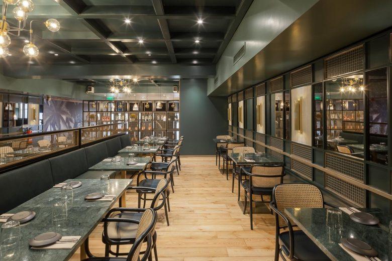 Thiết kế nội thất nhà hàng - Yếu tố giúp chủ đầu tư kinh doanh thành công thiet ke noi that nha hang hien dai 5
