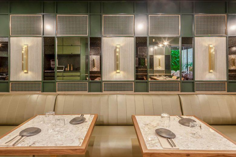 Thiết kế nội thất nhà hàng - Yếu tố giúp chủ đầu tư kinh doanh thành công thiet ke noi that nha hang hien dai 7