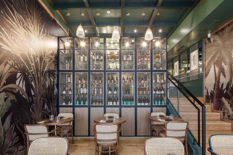 Thiết kế nội thất nhà hàng - Yếu tố giúp chủ đầu tư kinh doanh thành công thiet ke noi that nha hang hien dai 8