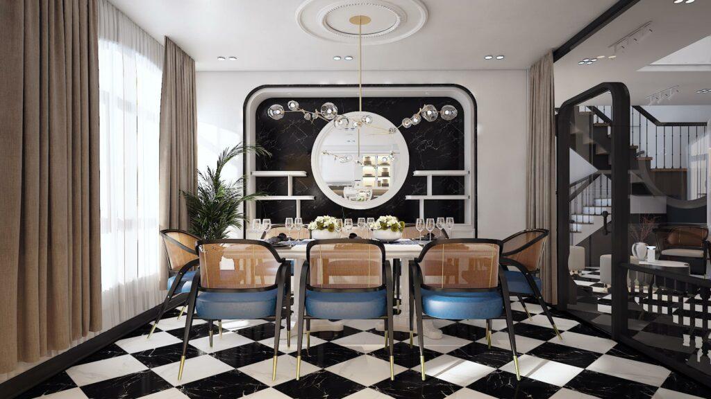 Phong cách nội thất Indochine - Sự giao thoa giữa phong cách Đông - Tây thiet ke noi that phong cach Indochine 4