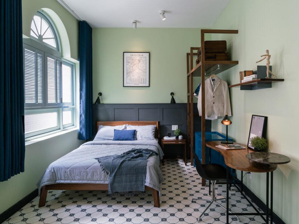 Thiết kế nội thất căn hộ phong cách Indochine - Mang vẻ đẹp hoài cổ thiet ke noi that phong cach Indochine 5
