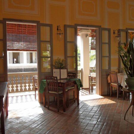 Quán cafe phong cách Indochine – Gợi nhớ hoài niệm không gian xưa