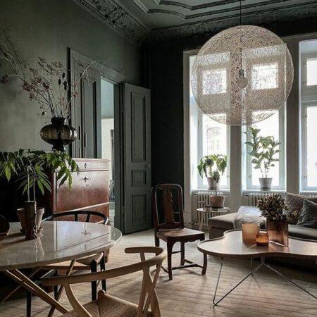 Thiết kế nội thất quán cafe phong cách Indochine