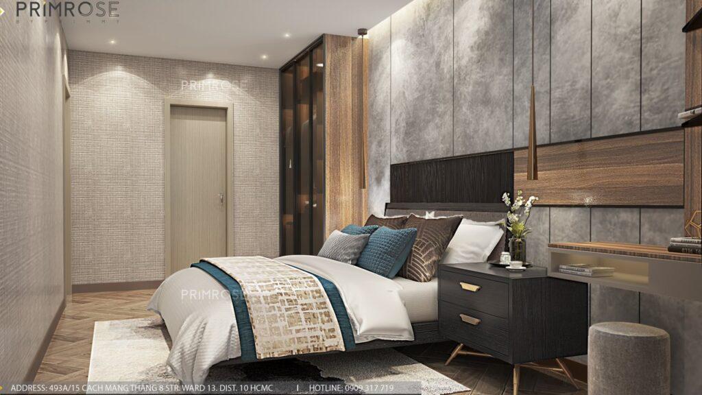 Thiết kế nội thất căn hộ Lavida Plus 77m2 thiet ke can ho 2phong ngu 1