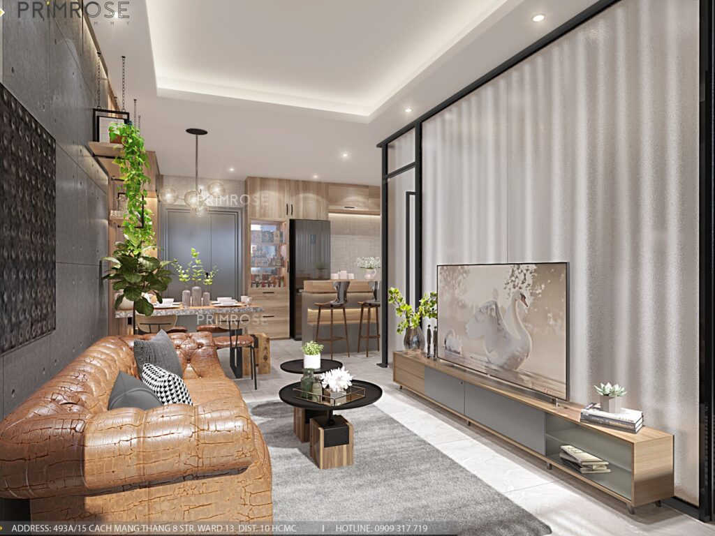 Thiết kế nội thất căn hộ Lavida Plus 77m2 thiet ke can ho 2phong ngu 10