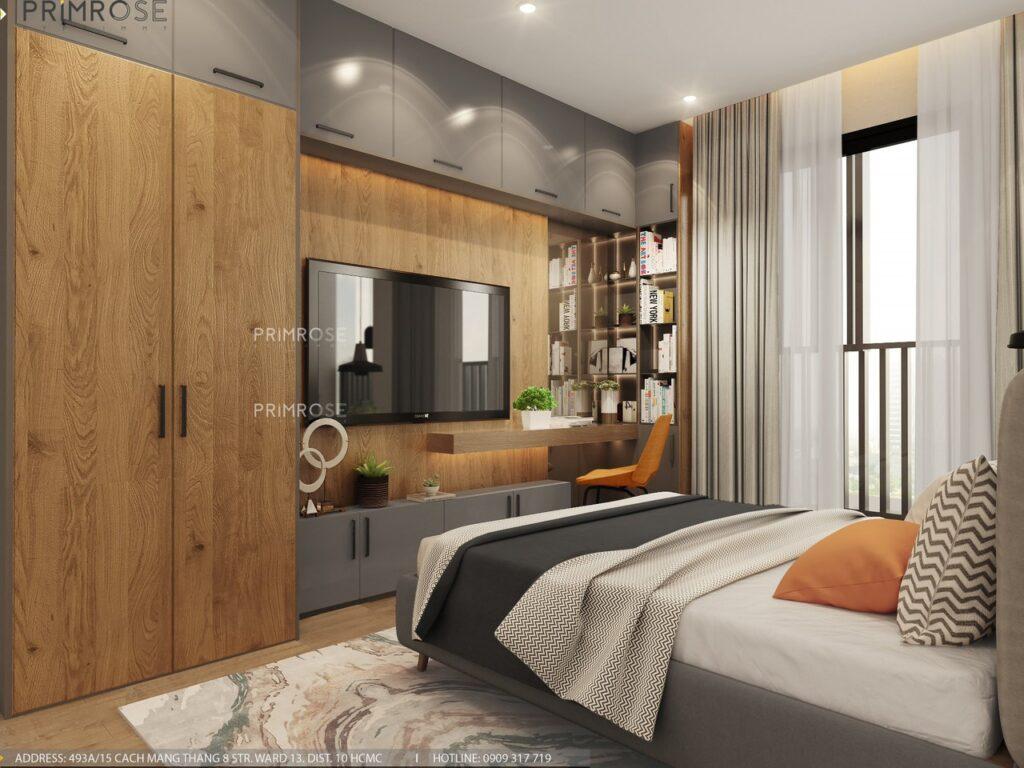 Thiết kế nội thất căn hộ Lavida Plus 77m2 thiet ke can ho 2phong ngu 11