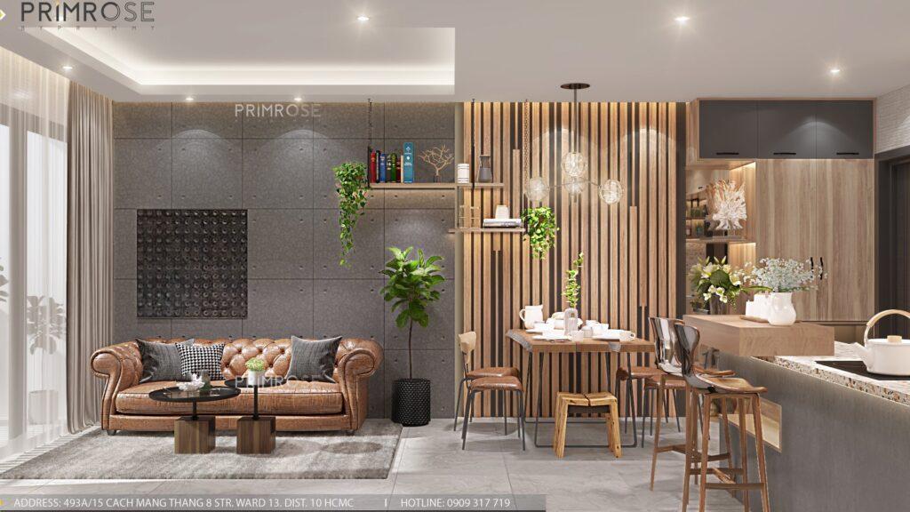 Thiết kế nội thất căn hộ Lavida Plus 77m2 thiet ke can ho 2phong ngu 3