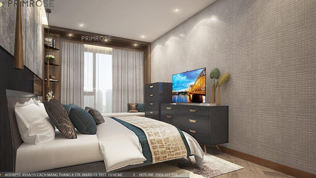 Thiết kế nội thất căn hộ Lavida Plus 77m2 thiet ke can ho 2phong ngu 6