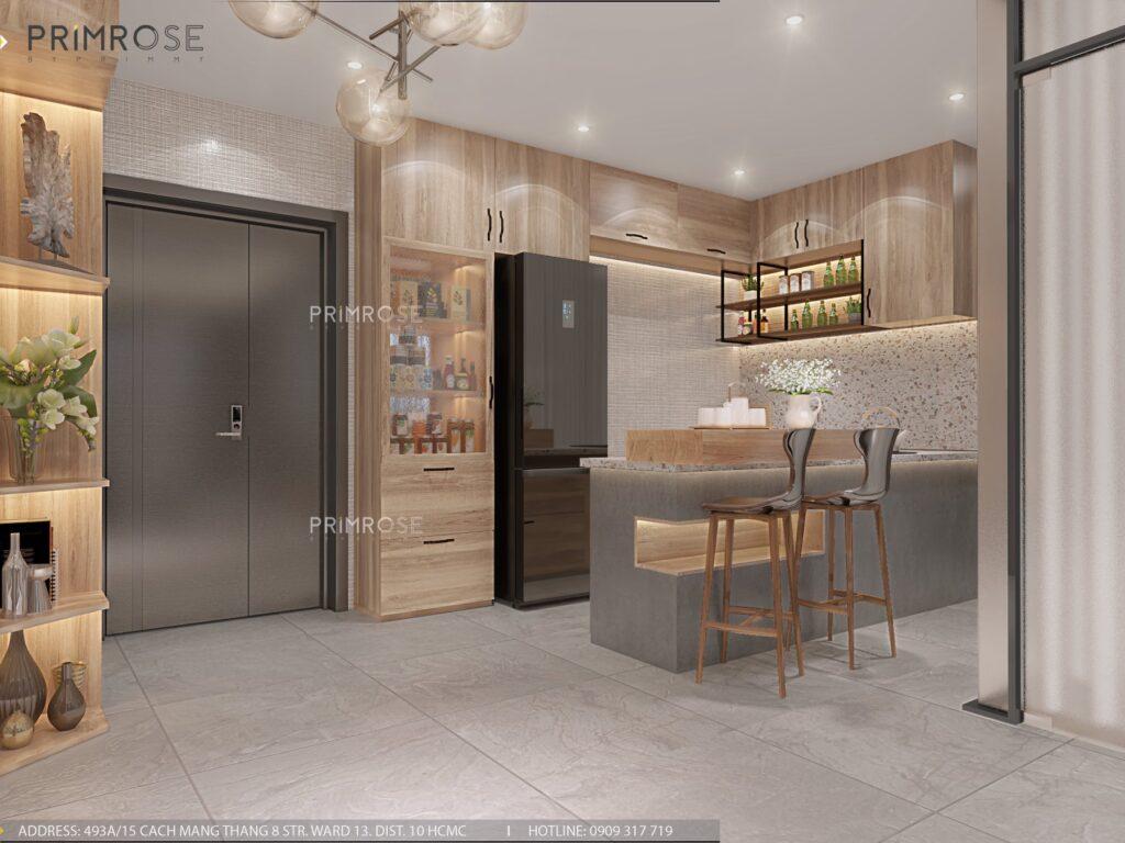 Thiết kế nội thất căn hộ Lavida Plus 77m2 thiet ke can ho 2phong ngu 7