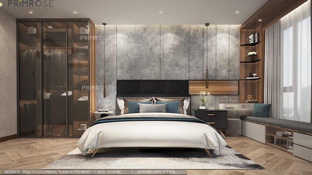 Thiết kế nội thất căn hộ Lavida Plus 77m2 thiet ke can ho 2phong ngu 8