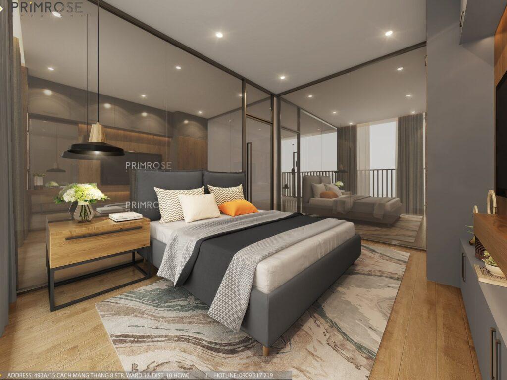 Thiết kế nội thất căn hộ Lavida Plus 77m2 thiet ke can ho 2phong ngu 9