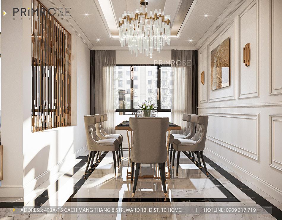 Mẫu thiết kế nội thất Empire City sang trọng & hiện đại thiet ke noi that can ho DUPLEX 2 phong ngu 12