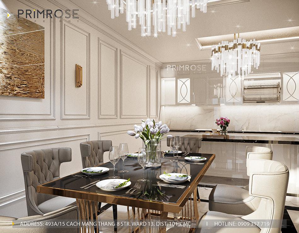 Mẫu thiết kế nội thất Empire City sang trọng & hiện đại thiet ke noi that can ho DUPLEX 2 phong ngu 13