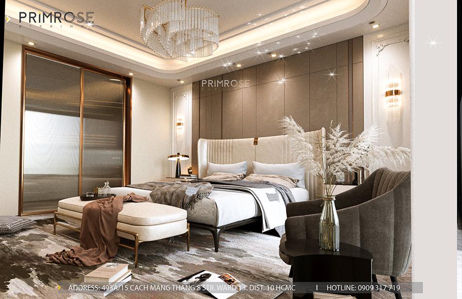 Mẫu thiết kế nội thất Empire City sang trọng & hiện đại thiet ke noi that can ho DUPLEX 2 phong ngu 3