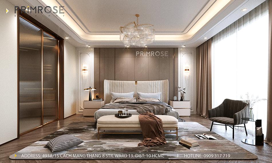 Mẫu thiết kế nội thất Empire City sang trọng & hiện đại thiet ke noi that can ho DUPLEX 2 phong ngu 4