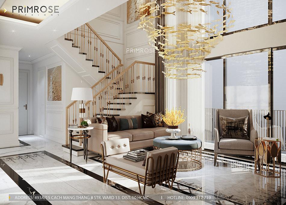 Mẫu thiết kế nội thất Empire City sang trọng & hiện đại thiet ke noi that can ho DUPLEX 2 phong ngu 5