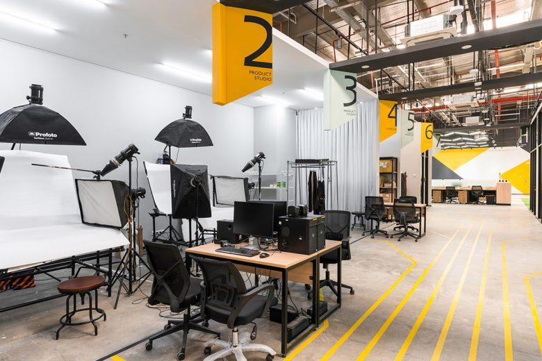 Văn phòng làm việc thiết kế phong cách công nghiệp hiện đại thiet ke van phong phong cach cong nghiep 2