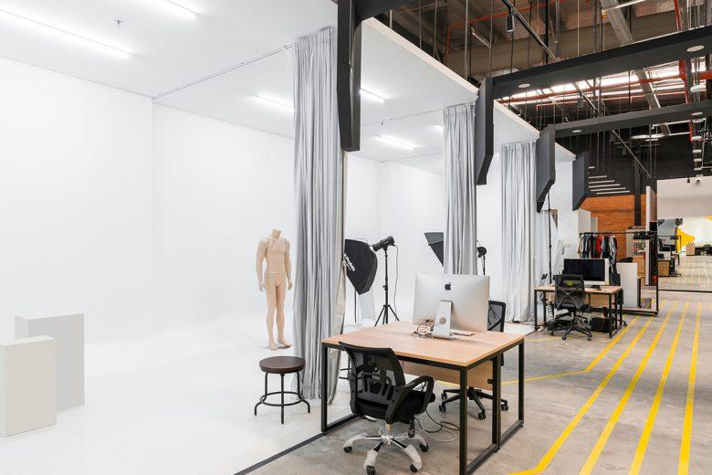 Văn phòng làm việc thiết kế phong cách công nghiệp hiện đại thiet ke van phong phong cach cong nghiep 6