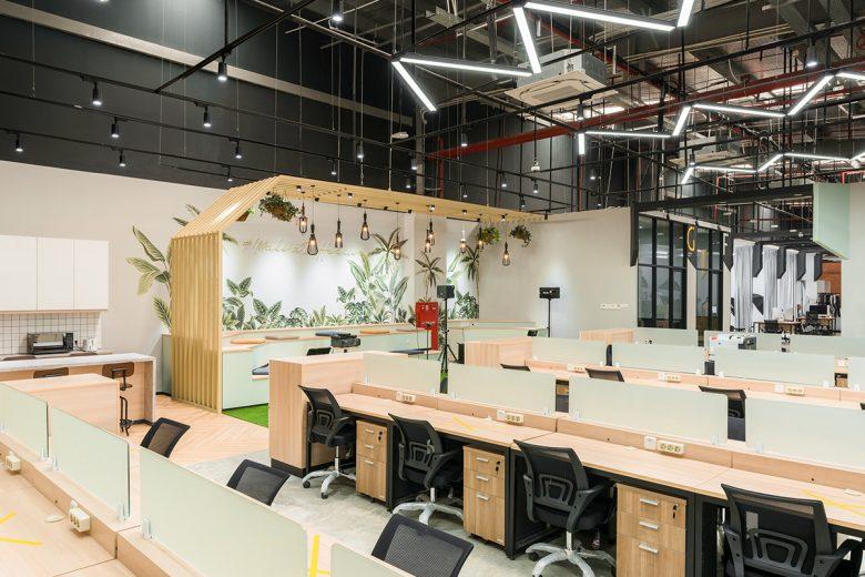 Văn phòng làm việc thiết kế phong cách công nghiệp hiện đại thiet ke van phong phong cach cong nghiep 7