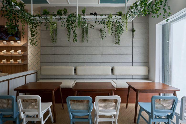 """""""Tô xanh"""" thiết kế nhà hàng phong cách nhiệt đới to diem khong gian nha hang phong cach nhiet doi 3"""