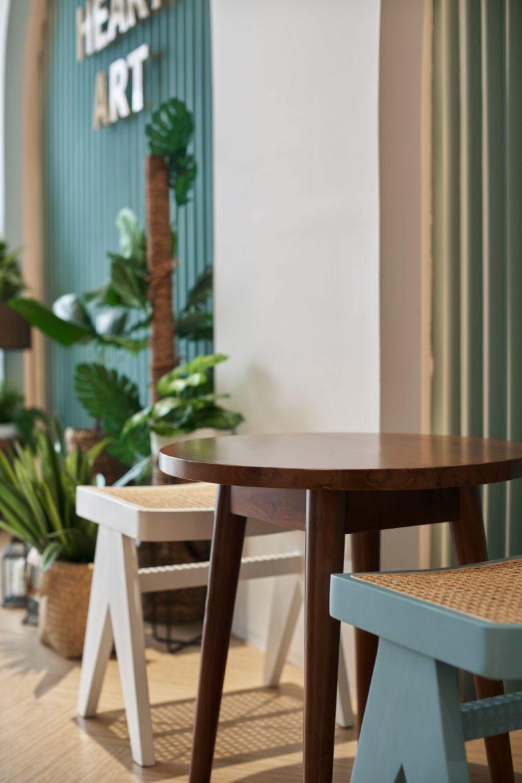 """""""Tô xanh"""" thiết kế nhà hàng phong cách nhiệt đới to diem khong gian nha hang phong cach nhiet doi 9"""